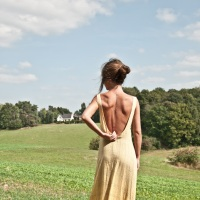 Making the Burning Burta Maxi dress