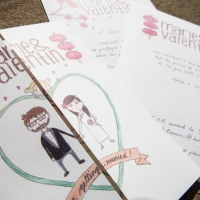 My wedding invitation package