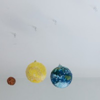 DIY - The Solar system in papier-maché