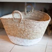 DIY - Dip dyed fireplace basket