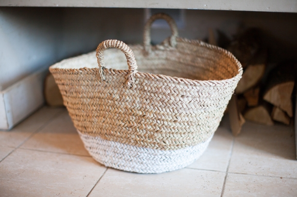 spraypainted basket-1