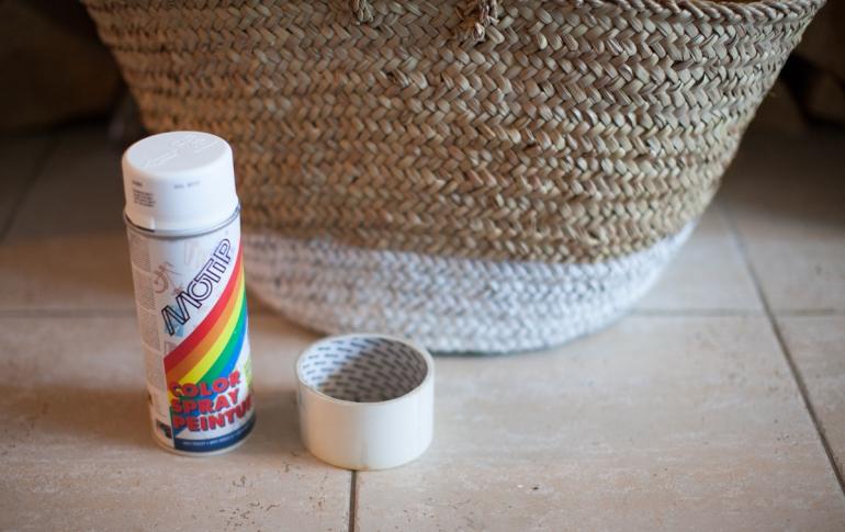 spraypainted basket-2