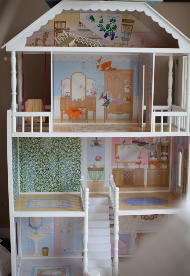 barbie house-8