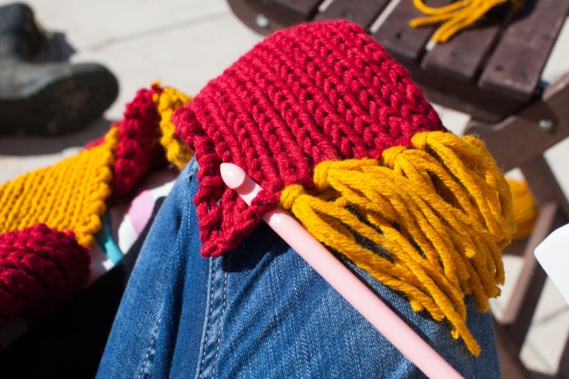 gryffindor scarf
